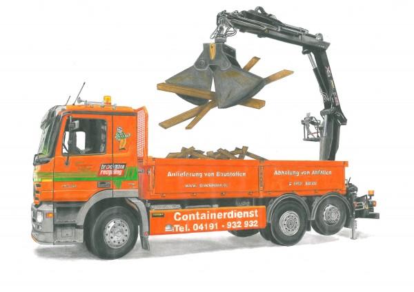 Selbstladefahrzeug für Altholz (A1-A3)