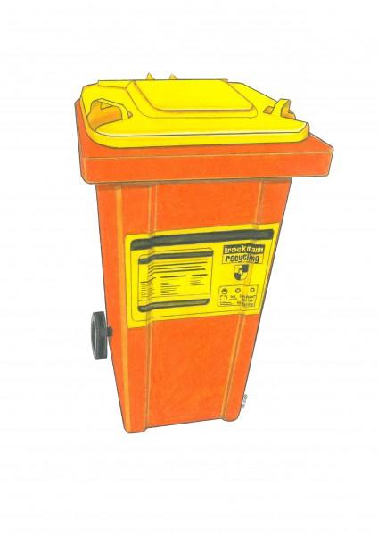 240 Liter Gelbe Wertstofftonne