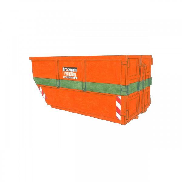 10 cbm Absetzcontainer für Altholz A1-A3