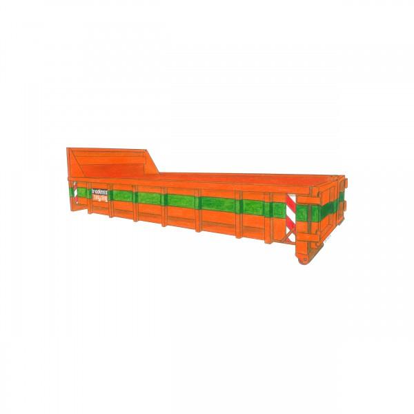 10 cbm Abrollcontainer für Holz A4