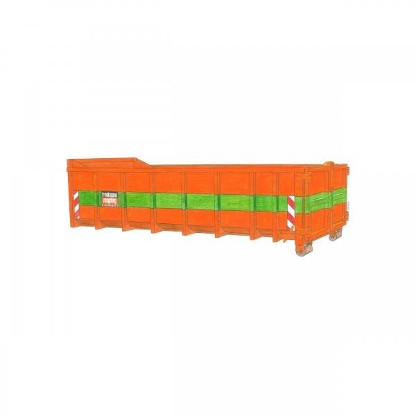 15 cbm Abrollcontainer für Baumischabfall